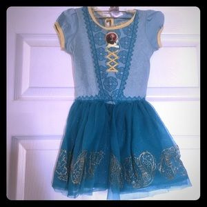 Disney Brave short sleeved dress size small 2-4